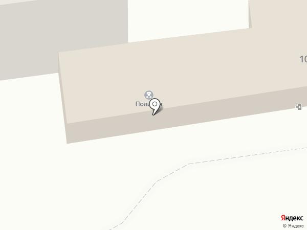Участковый пункт полиции на карте Южно-Сахалинска