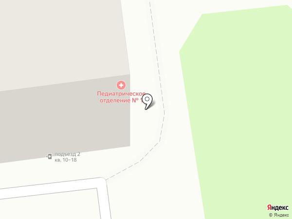 Южно-Сахалинская детская городская поликлиника на карте Южно-Сахалинска