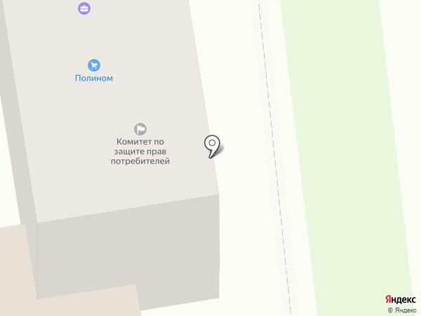 Косметическая линия на карте Южно-Сахалинска