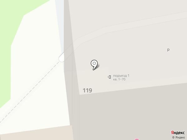 DA КАРАНДАШ на карте Южно-Сахалинска