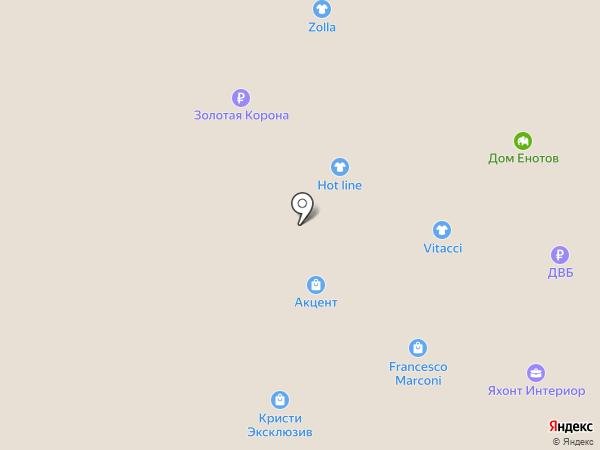 Сабвэй на карте Южно-Сахалинска