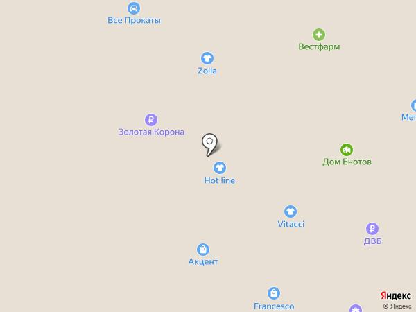 Мария на карте Южно-Сахалинска