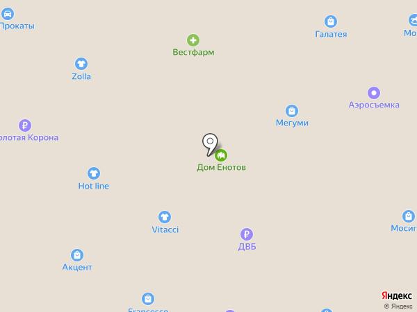 PUSHE на карте Южно-Сахалинска