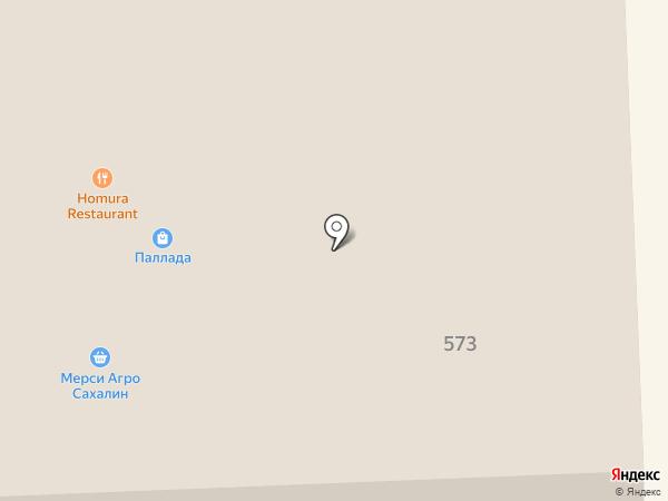 AutoБаня на карте Южно-Сахалинска