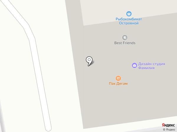 Пак Дэгам на карте Южно-Сахалинска