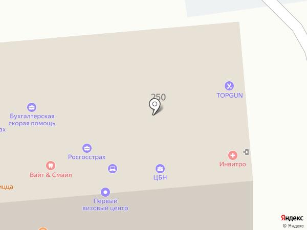 Гранд Лион на карте Южно-Сахалинска