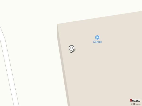 Салон автошин на карте Южно-Сахалинска