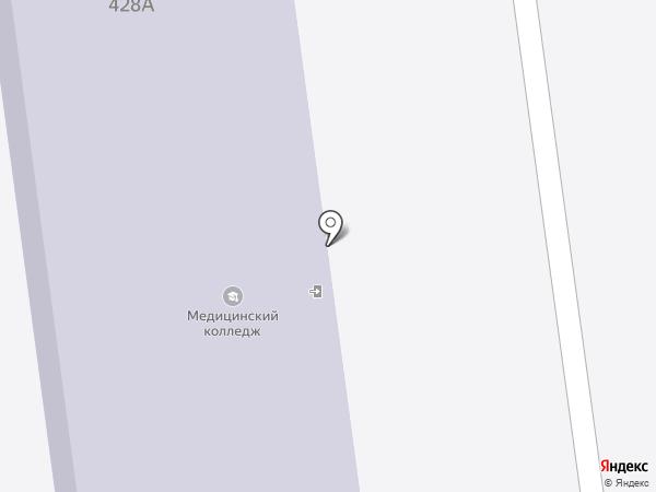 Столовая №759 на карте Южно-Сахалинска