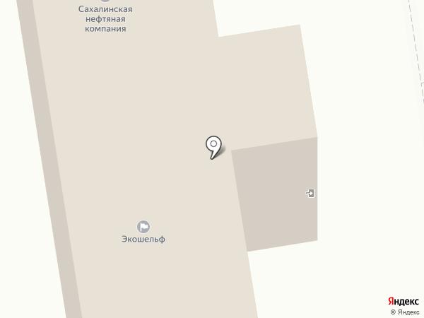Топливно-обеспечивающая компания, ЗАО на карте Южно-Сахалинска