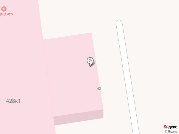 Сахалинская областная клиническая больница на карте Южно-Сахалинска