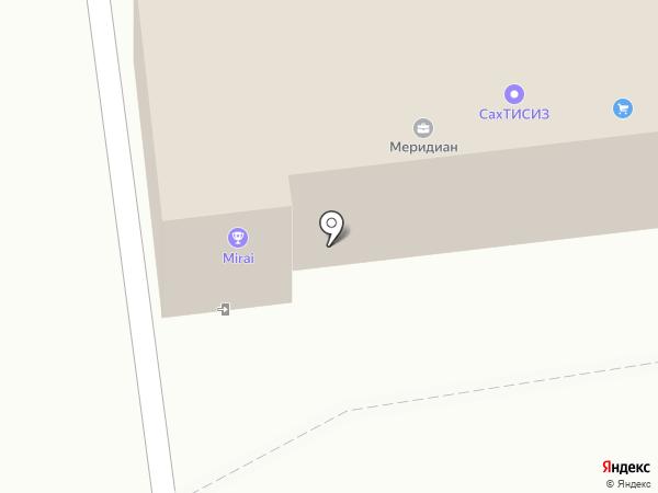 Транснет Интернешнл Логистикс на карте Южно-Сахалинска