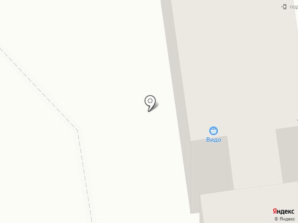 Видо на карте Южно-Сахалинска