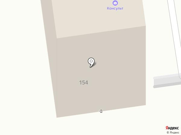 Профи-сервис Сахалин на карте Южно-Сахалинска