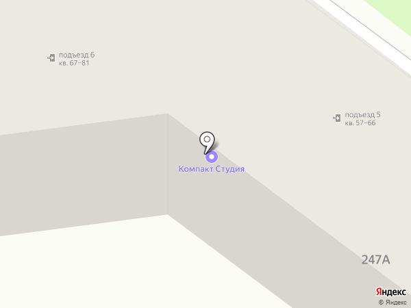 Ирида-Сервис на карте Южно-Сахалинска