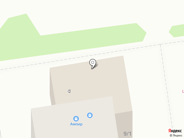 Ампир и Вернисаж на карте Южно-Сахалинска