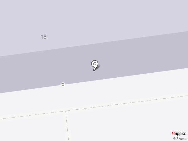 Средняя общеобразовательная школа №23 на карте Южно-Сахалинска
