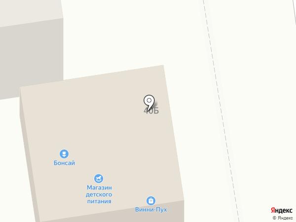 Магазин детского питания на карте Южно-Сахалинска
