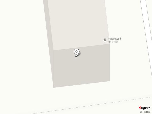 Военторг на карте Южно-Сахалинска