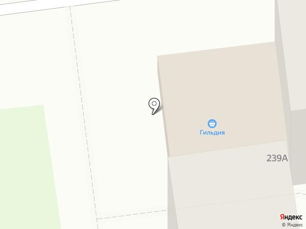 Гильдия на карте Южно-Сахалинска