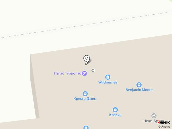Магазин товаров для рукоделия на карте Южно-Сахалинска