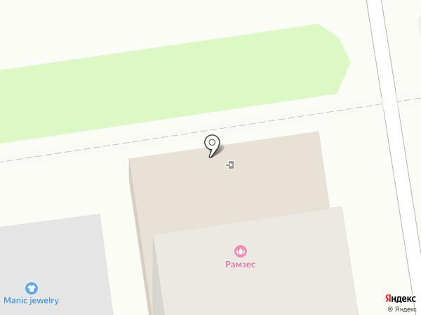 РАМЗЕС СИТИ на карте Южно-Сахалинска