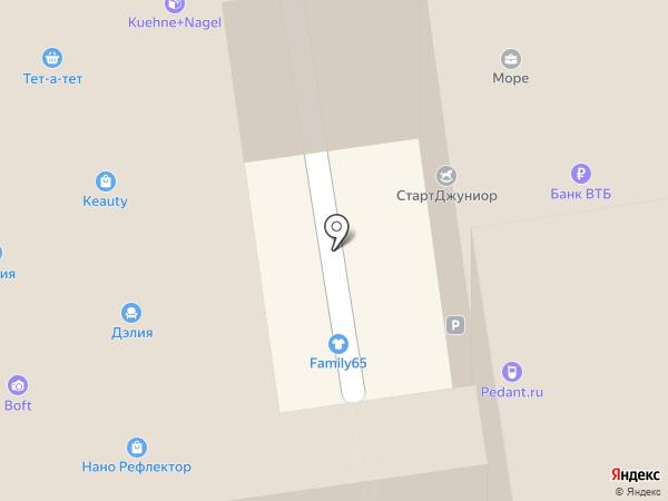 МОРЕ на карте Южно-Сахалинска