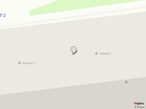 Семейная клиника №1 на карте Южно-Сахалинска