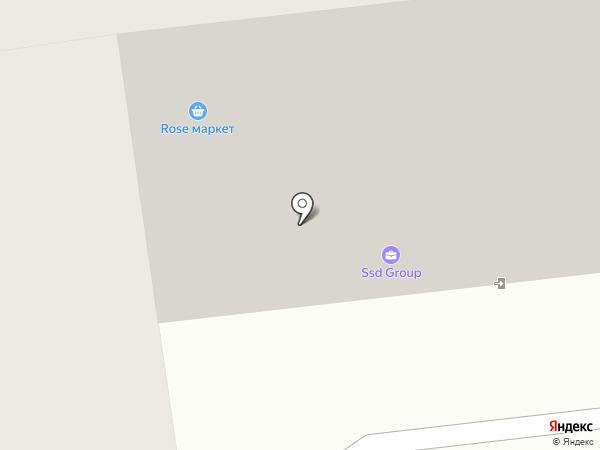 Rose house на карте Южно-Сахалинска