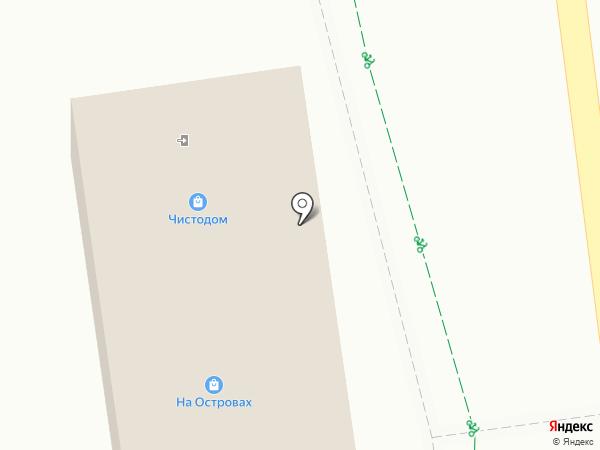 Чисто Дом на карте Южно-Сахалинска