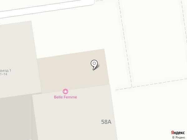 Belle Femme на карте Южно-Сахалинска