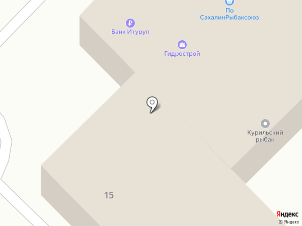 Пиленга, ЗАО на карте Южно-Сахалинска