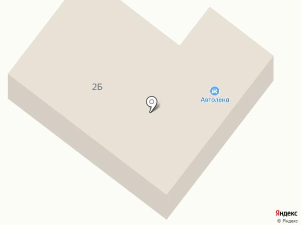 Автоленд на карте Долинска