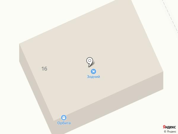 Орбита на карте Долинска
