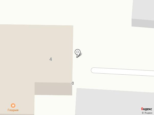 Глория на карте Долинска