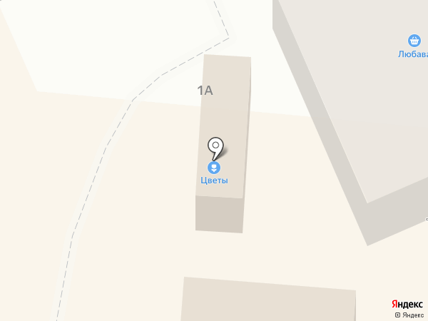 Цветочный магазин на карте Долинска