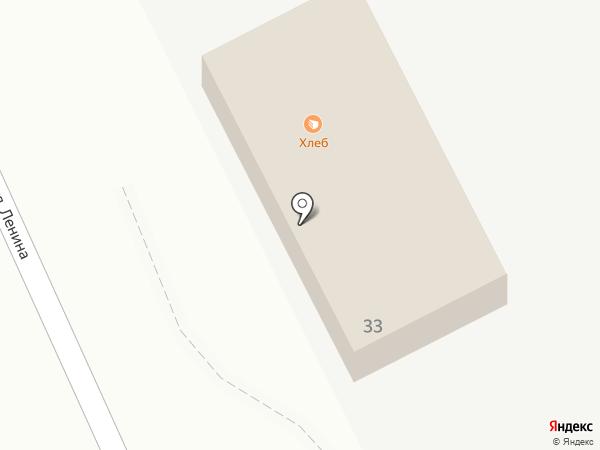 Магазин горячего хлеба на карте Долинска