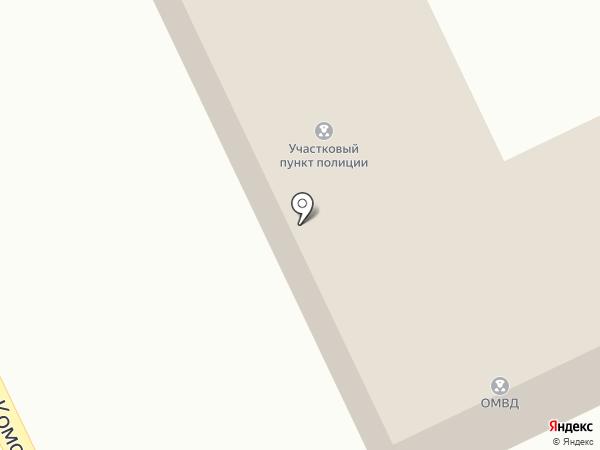 Отдел МВД России по городскому округу Долинский на карте Долинска