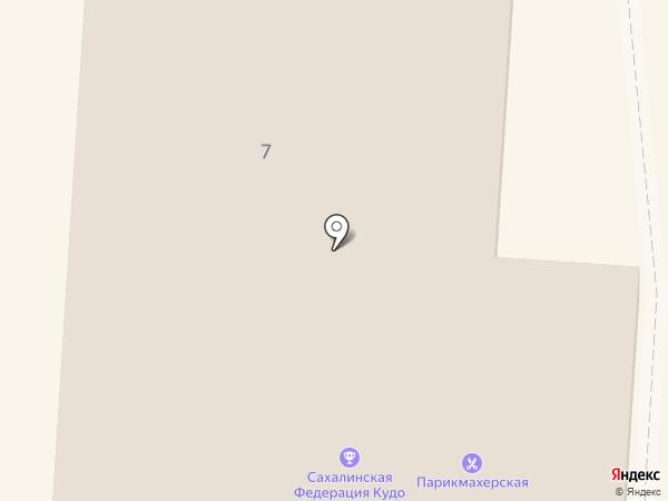 Естехник на карте Долинска