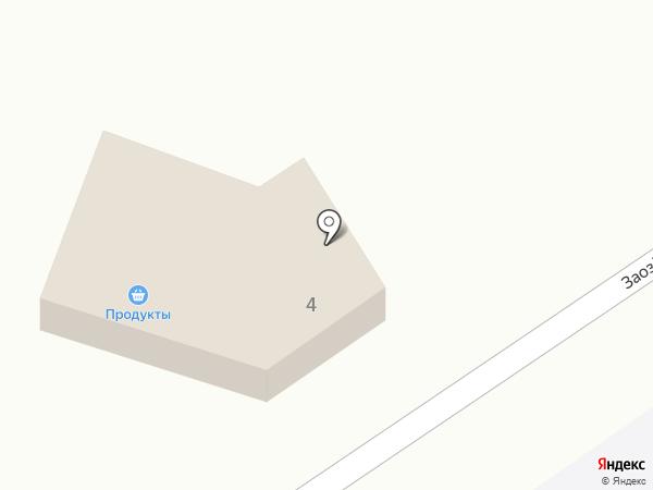 Продовольственный магазин на карте Стародубского