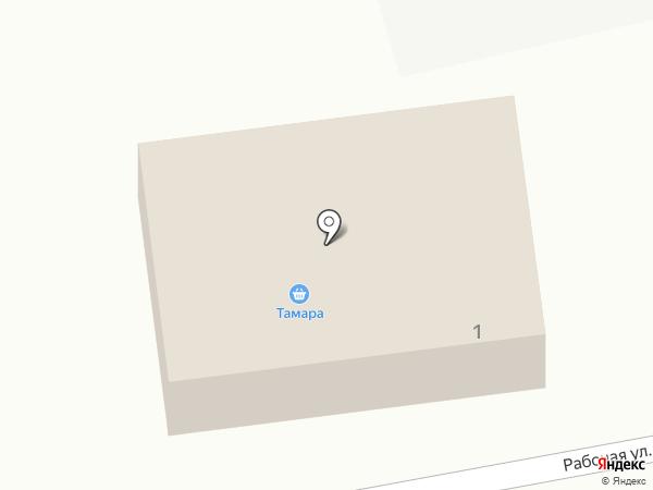 Тамара на карте Стародубского