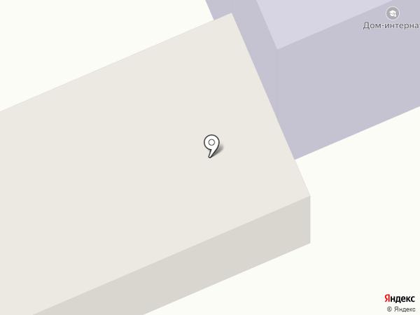 Дом-интернат для умственно-отсталых детей на карте Елизово