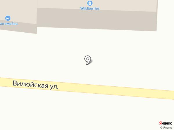 Мега-Е на карте Елизово