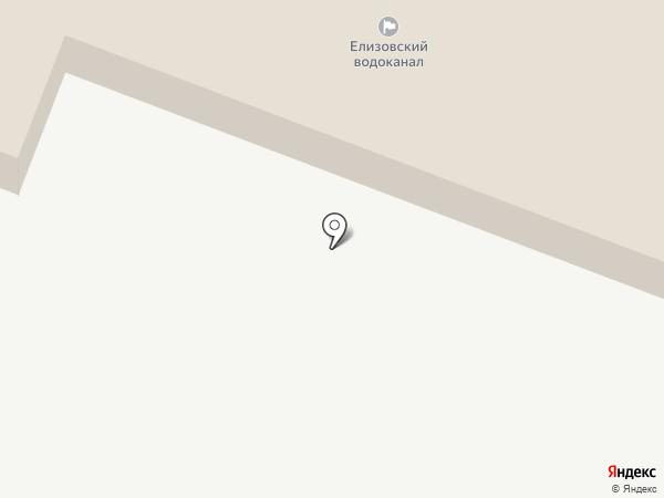 Петропавловский водоканал на карте Елизово