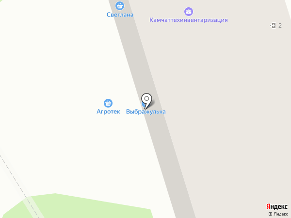 Агротек Маркет на карте Елизово