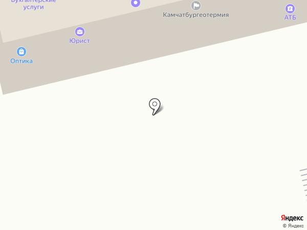 Геосервис на карте Елизово