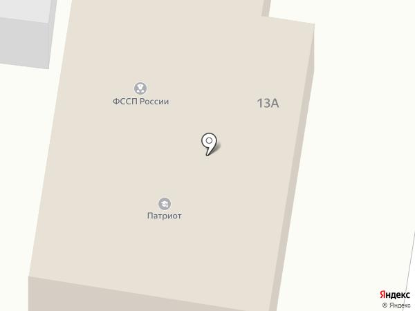 Согжой на карте Елизово