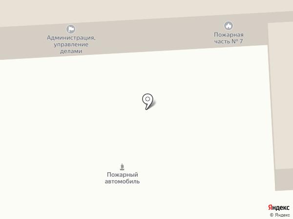 Пожарная часть №7 на карте Елизово