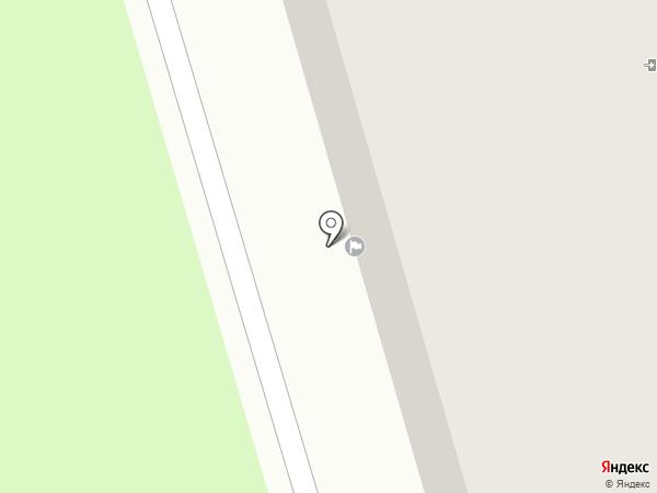 Экран на карте Елизово