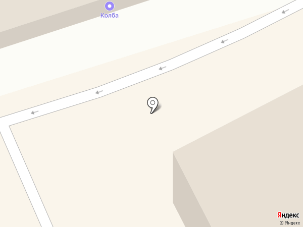 Леавет на карте Елизово