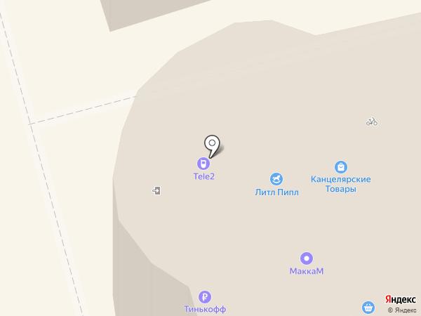 Орбита на карте Елизово